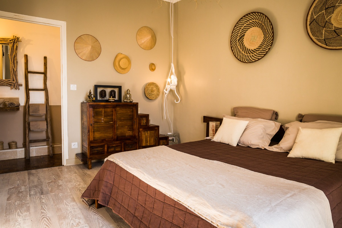 chambre Canigou - Chambre d'hôtes - Ponteilla