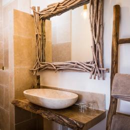 salle d'eau - Chambre d'hôtes - Ponteilla