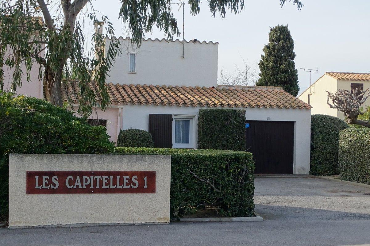 Vue depuis l'Avenue Cap de Front - Location de vacances - Le Barcarès