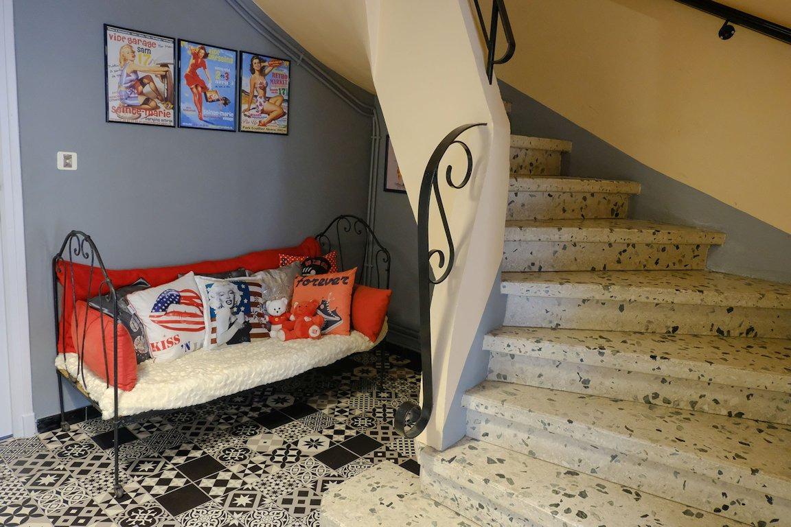 Hall d'entrée - partagé avec les propriétaires - Location de vacances - Perpignan