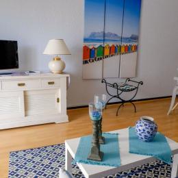 Le salon - Location de vacances - Perpignan