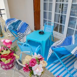 Le balcon joliment fleuri - Location de vacances - Perpignan