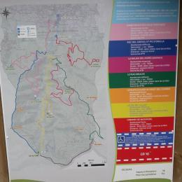 Carte randonnées - Location de vacances - Laroque-des-Albères