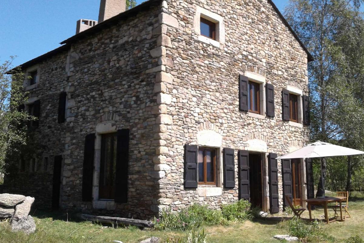Façade sud été - Location de vacances - Font-Romeu-Odeillo-Via