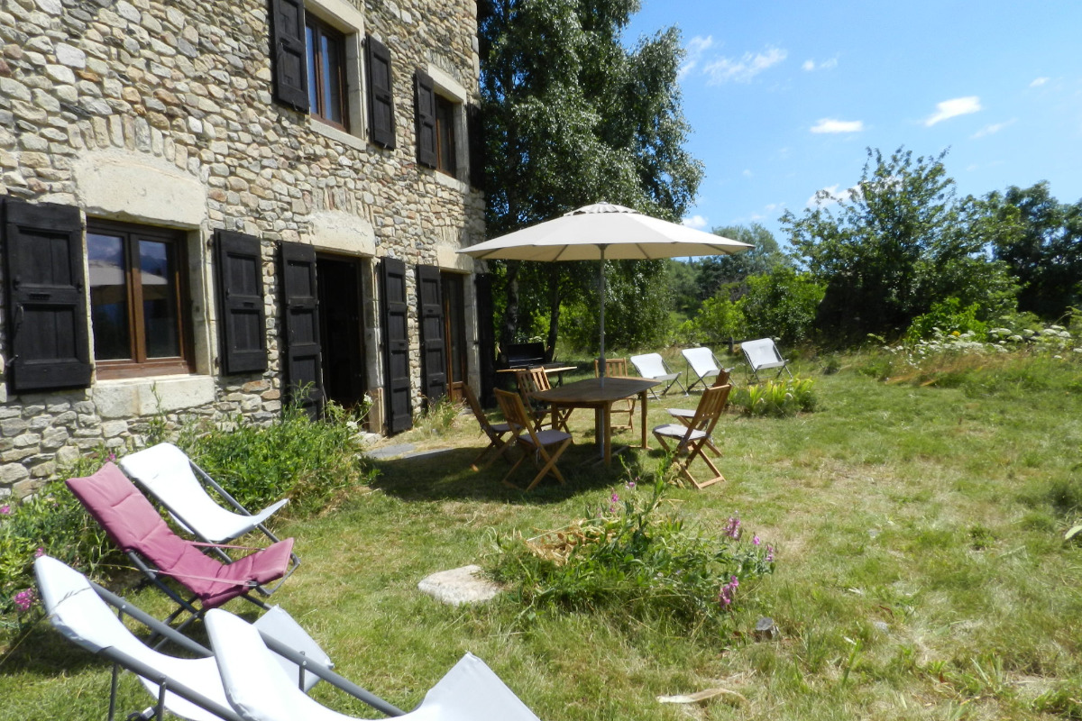 Terrasse - Location de vacances - Font-Romeu-Odeillo-Via