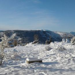 Vue sud hiver - Location de vacances - Font-Romeu-Odeillo-Via