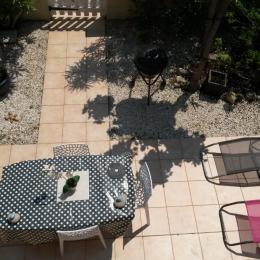 terrasse vue du balcon - Location de vacances - Le Barcarès