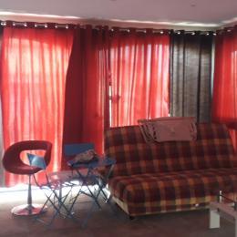 Salon / Baies vitrées et volets electriques - Location de vacances - Sainte-Marie