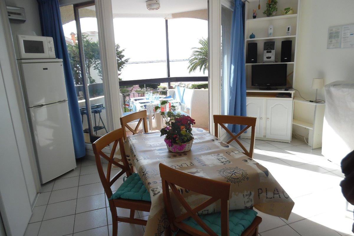 VUE SUR BALCON - LAC MARIN -MONT CANIGOU - Location de vacances - Le Barcarès