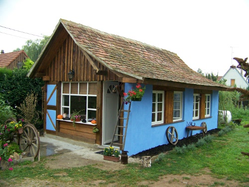accueil au poulailler bleu - Location de vacances - Muttersholtz
