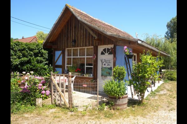 terrasse du gîte - Location de vacances - Muttersholtz