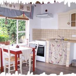 cuisine aménagée - Location de vacances - Muttersholtz