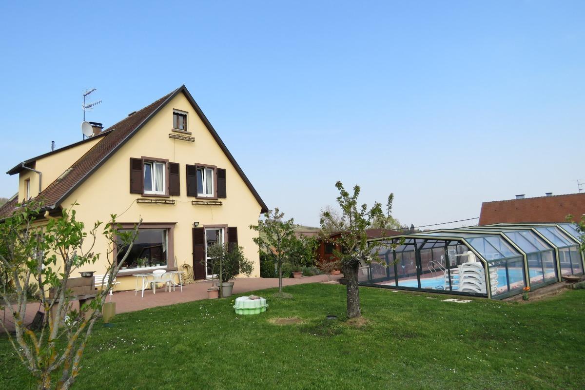Chambres d'hôtes La Tulipe avec piscine - Chambre d'hôtes - Mittelbergheim