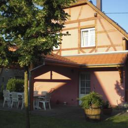 Autre vue coté jardin  - Location de vacances - Stotzheim