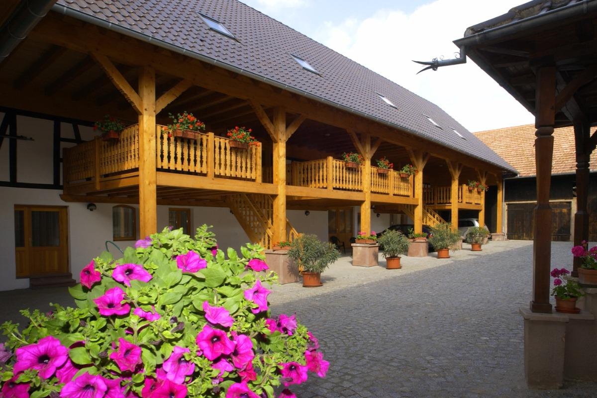 Chambre double, logement bleu proche strasbourg - Location de vacances - Rottelsheim