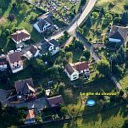 Vue du gîte d'un ULM - Location de vacances - Lichtenberg