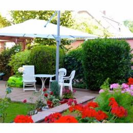 Jardin, Bischheim, proche Strasbourg - Location de vacances - Bischheim