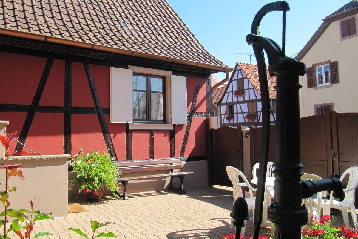 cour  - Location de vacances - Kogenheim