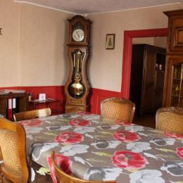 salle à manger - Location de vacances - Kogenheim