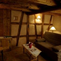 SALON SUITE HANSI - Chambre d'hôtes - Imbsheim