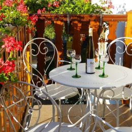 Balcon du gîte - Location de vacances - Wasselonne
