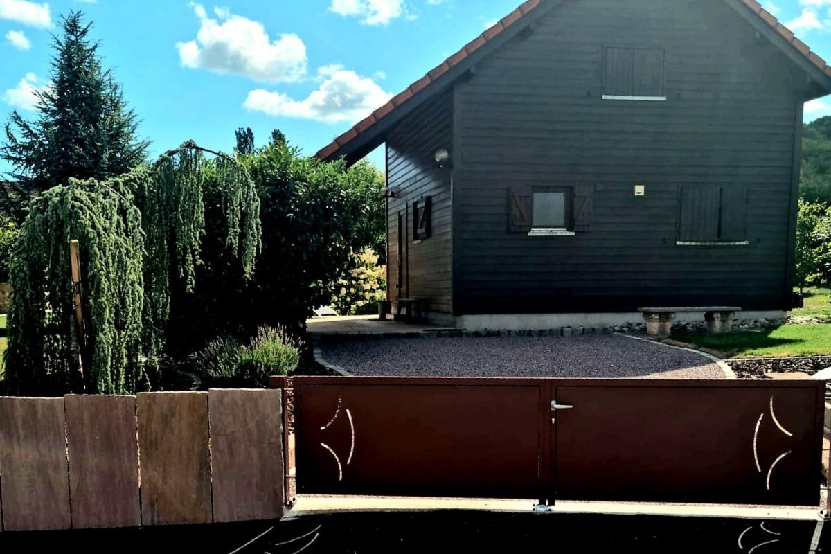 départ de promenades - Location de vacances - Rosheim