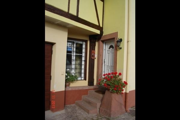 entrée locataires - Location de vacances - Boersch