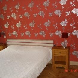 chambre lit en 160cm - Location de vacances - Boersch