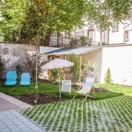 sur un jardin, une pièce supplémentaire dès le printemps - Location de vacances - Strasbourg