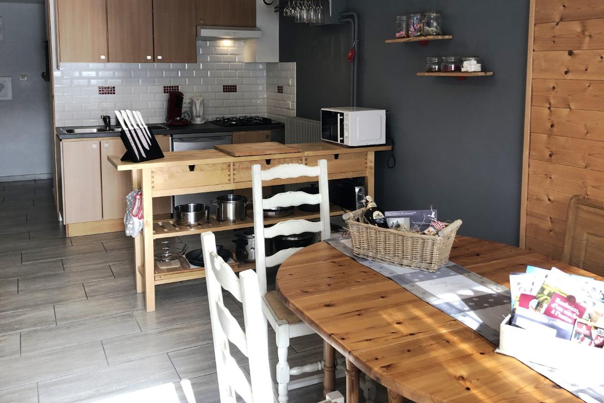 La cuisine - Location de vacances - Rosheim