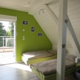 Chambre n°2 avec terrasse - Location de vacances - Strasbourg