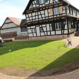 extérieur du gite - Location de vacances - Limersheim
