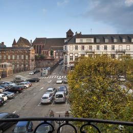 vue des balcons - Location de vacances - Saverne