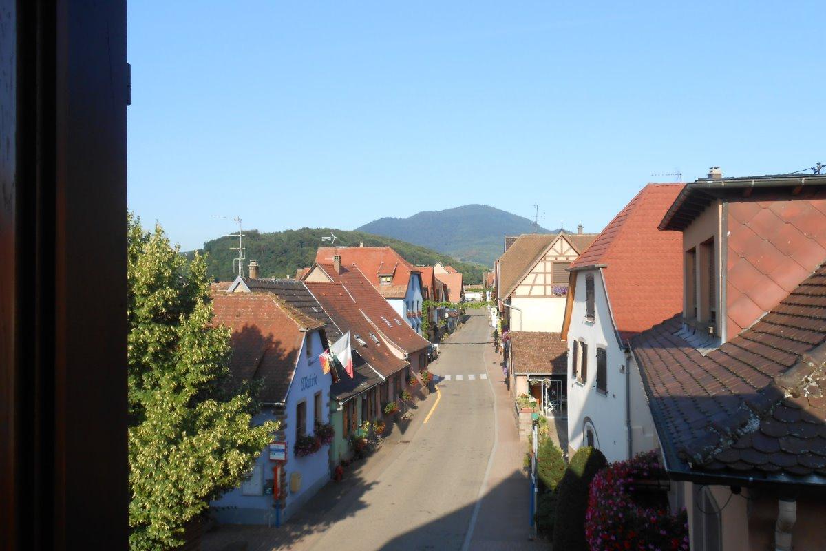 Vue sur le village - Location de vacances - Itterswiller