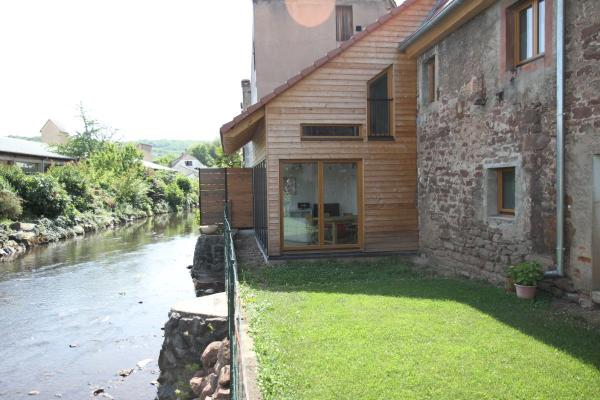 Vue du jardin - Location de vacances - Mutzig