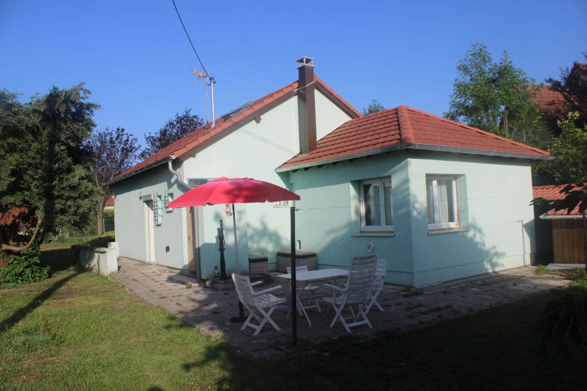 la maison verte partie arrière  - Location de vacances - Marmoutier