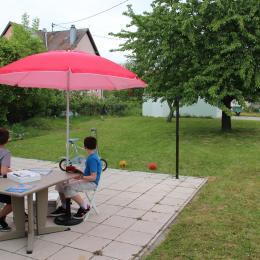 LA TERRASSE D'ETE BONHEUR DES ENFANTS ... - Location de vacances - Marmoutier