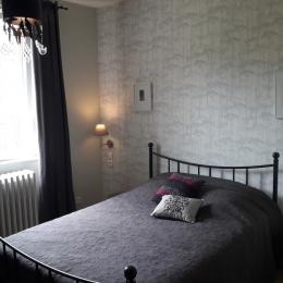 La chambre lit double - Location de vacances - Obersteinbach