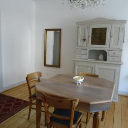 salle à manger  - Location de vacances - Strasbourg