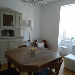 salle à manger et salon - Location de vacances - Strasbourg