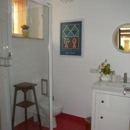 La salle d'eau - Chambre d'hôtes - Saales
