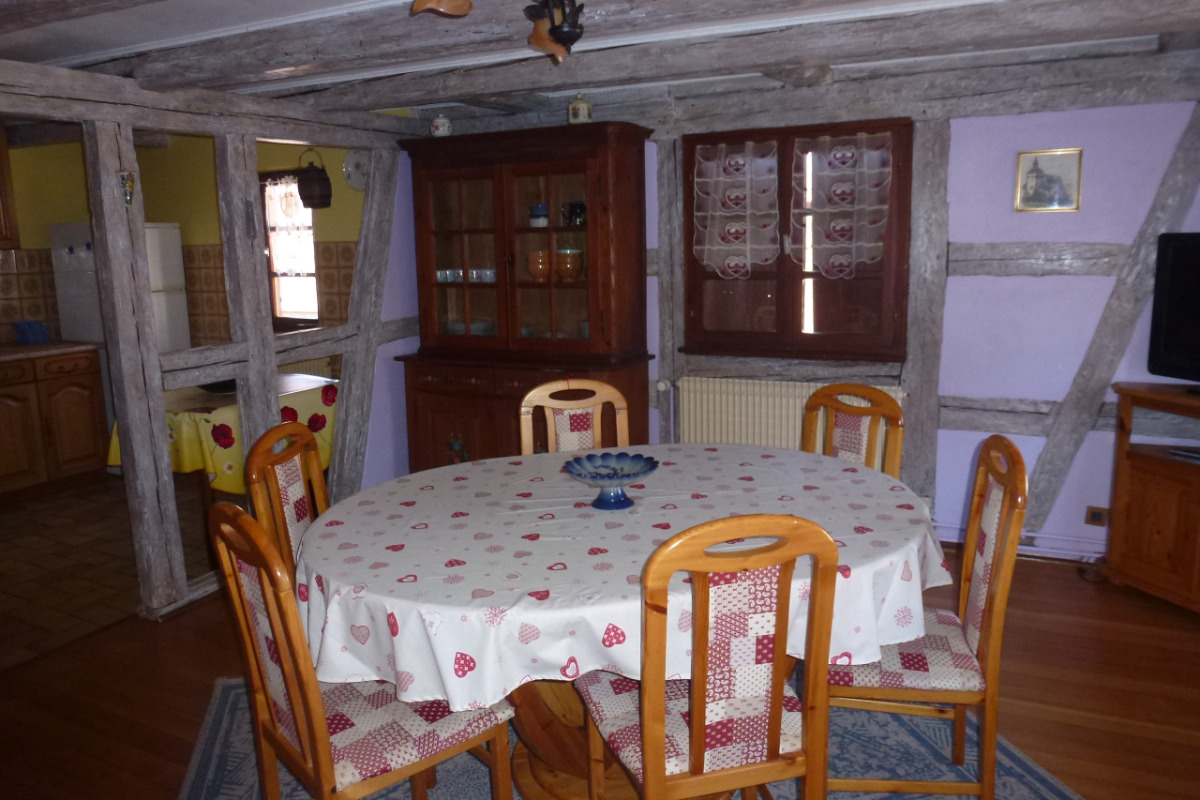 salle à manger - Location de vacances - Breuschwickersheim