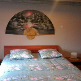 Chambre double - Location de vacances - Breuschwickersheim