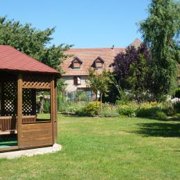 le jardin - Chambre d'hôtes - Breuschwickersheim