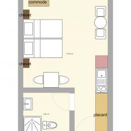 plan - Chambre d'hôtes - Breuschwickersheim