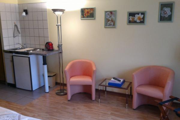 le coin cuisinette - Chambre d'hôtes - Breuschwickersheim
