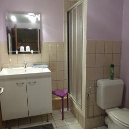 la salle d'eau - Chambre d'hôtes - Breuschwickersheim