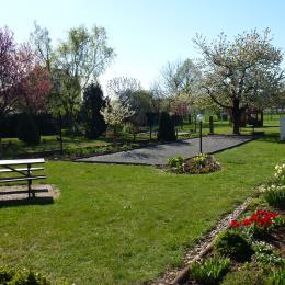 jardin - Chambre d'hôtes - Breuschwickersheim
