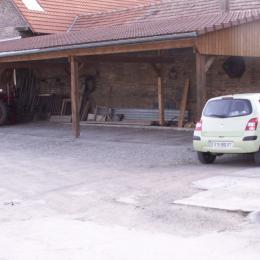 le parking - Chambre d'hôtes - Breuschwickersheim