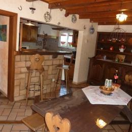 salle à manger - Location de vacances - Leutenheim